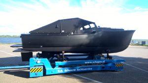 Klassieke motorboot – volledig gerestaureerd